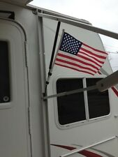 Camper American Flag Attach to Awning or Crank  RV, Popup, Trailer
