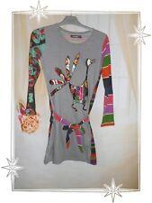 Robe Multicolore 27V3013 Mar de Plata Desigual  Taille 11 - 12  ans