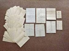 More details for 1912 womens politics sutton coldfield job lot ephemera letters application forms
