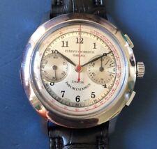 AWESOME  Vintage Cuervo y Sobrinos  Chronograph SS Fancy Case