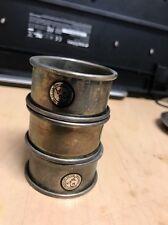 GSA silver treasures by GODINGER silver art napkin rings
