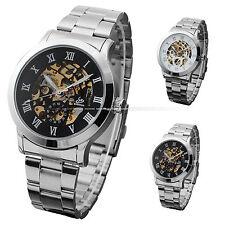 Unbranded Analog Round Skeleton Wristwatches