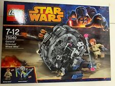 Star Wars Lego General Grievous' Wheel Bike 75040 brand New unopened set