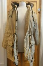 Ladies Brown Parka Coat Size 16. BNWT.