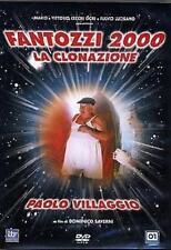 Dvd FANTOZZI 2000 - La Clonazione - (1999) *** Paolo Villaggio *** ....NUOVO