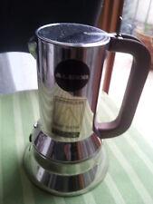 CAFFETTIERA MOKA ALESSI DESIGN COMPASSO D'ORO 1970-79
