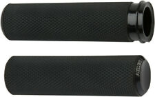 Arlen Ness Fusion Knurled Grips Black Cable Style 07-325