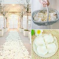 100pcs Wedding Silk Rose Petals Bridal Flowergirl Basket Fake Flower-Decora A5V7