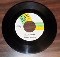 45 rpm soul JOHNNIE MORISETTE Don't Need Nobody But You/Black Night 1963 SAR V++