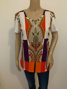 ETRO patterned T shirt