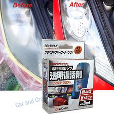 Soft99 Nano Hard Clear Plastic Restoration Kit G'Zox Prospec Headlight JDM 透明復活劑