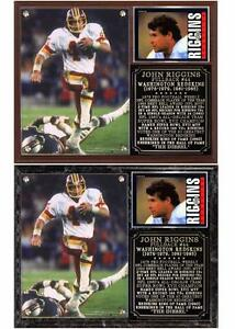 John Riggins #44 The Diesel Super Bowl Champion Photo Plaque Redskins