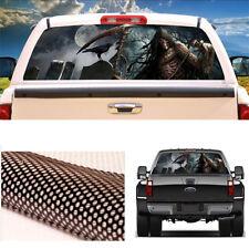 Truck SUV Jeep Rear Window Graphic Decal Vinyl Sticker 3D Grim Reaper Cemetery