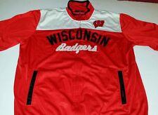 Wisconsin Badgers Xxl Track Jacket Big Ten Football Baseball Basketball
