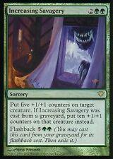 Increasing Savagery FOIL   NM   Dark Ascension   Magic MTG