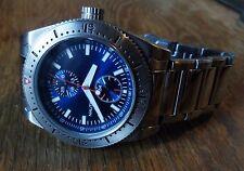 Nautica Men's Divers Watch 100m screw-down crown 24HR dial Stainless Steel