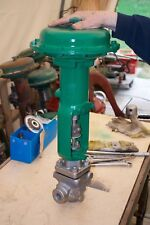 "Fisher EZ 3/4"" SS valve, actuator 667 size 30, tested@200lbs, 6-month warranty"