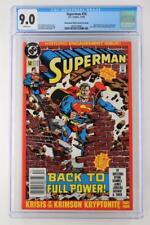 Superman #50 - CGC 9.0 -DC 1990- Newsstand/2nd Print - Clark & Lois get engaged!