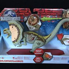 Jurassic World Park Dilophosaurus Dinosaur New Toy with Light & Sound Effects