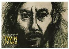 SCARCE TWIN PEAKS GOLD BOX DVD POSTCARD #32   DEPUTY HAWK'S SKETCH OF KILLER BOB