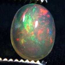 7x9 mm Cabochon Super Gem Red Ethiopian Opal Gemstone fc27