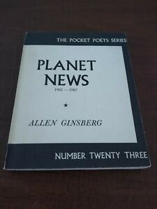 Planet News, 1961-1967 by Allen Ginsberg SIGNED