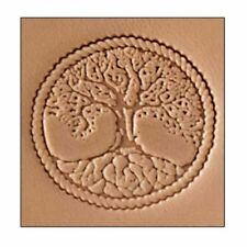 Celtic / Tree of Life Craftool 3-D Stamp (8686-00) White Bear Leather