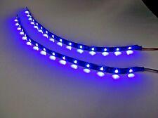 "2 BBT 12"" Flexible Waterproof 12 volt Blue LED Strip Light for RVs"
