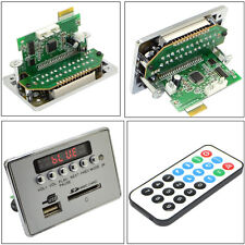 12V Cars Bluetooth Kit Wireless MP3 Decoder Board Audio Module USB SD TF Remote