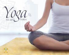 Yogamatte aus Lammfell medizinische Gerbung Fitnessmatte Turnmatte Pilates