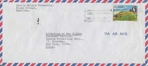 Bermuda -1971 Golf Courses, 15c Port Royal Commercial Air Mail Cover - Slogan