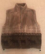 Black Mountain Outdoor Gear Men's Sweater Fleece Size 2XL Deer Buck Print E4