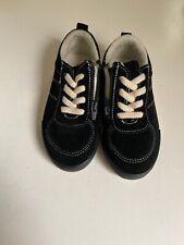 zara baby Shoes Black And White Sz 24