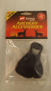 PSE King Calf Hair/Leather Split Finger Archery/Shooting Tabs Med-LH 4110ML