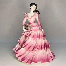 Immaculate Coalport Bone China Ladies Of Fashion Gabrielle Figurine 1994 England