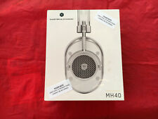 BRAND NEW SEALED MASTER & DYNAMIC MH40S5 HEADPHONES SILVER WHITE