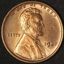 1927 1c Lincoln Cent - Free Shipping USA