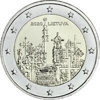 Litauen 2 Euro 2020 bfr. Berg der Kreuze