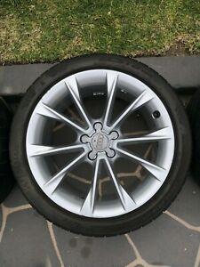 "Audi A5 Wheels - Genuine set 18"""