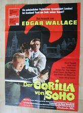Filmplakat - Der Gorilla von Soho ( Horst Tappert, Uschi Glas, Edgar Wallace )