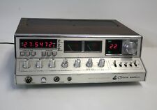 COBRA Radio Transmitter 2000GTL CB Radio Original Wood Grain Box- Tested/Works