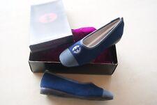 chaussons / pantoufles bleu gris LES LAVABLES D EXQUISE neuves taille 36