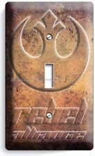 Star Wars Rebel Alliance Jedi Order Single Light Switch Wall Plate Ny Room Decor