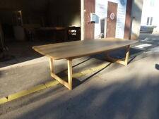 très grande table scandinave nordique europe du nord en chêne de 3m