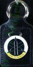 Yamaha Keyring Key Ring - badge mounted on a leather fob