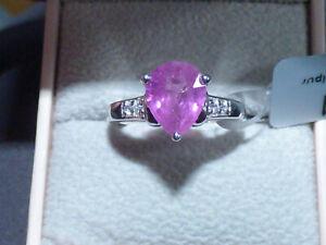 Madagascan Pink Sapphire Ring 3.29ct