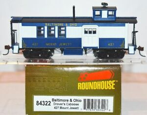 Baltimore & Ohio 427 Drover's Caboose Roundhouse 84322 HO Scale MR2.30