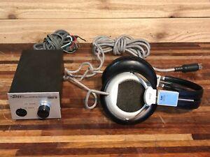 Stax SR5 Electrostatic Ear Speaker with SRD-6 amplifier / Headphones