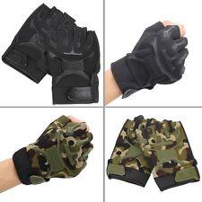 Quality Military Tactical Non-slip Gloves Short Half Finger Motorcycle Bike