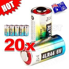 20x 4LR44 6V Battery PX28A 476A L1325 A544 V34PX Citronella Bark Dog Collar